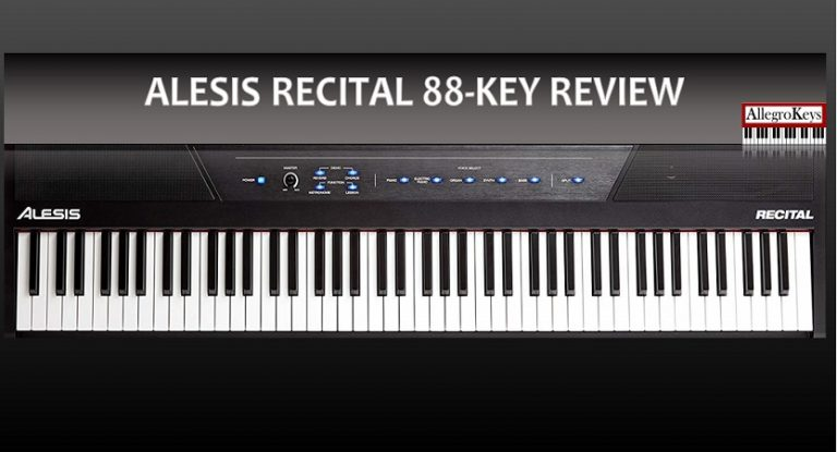 Alesis Recital 88-Key Review | An affordable weighted keyboard